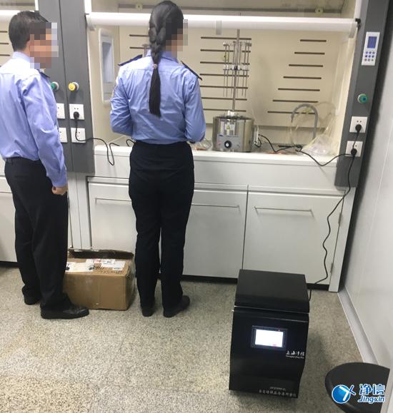 警方、公安局使用毛发毒品检测仪